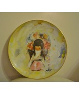 Ted DeGrazia Flower Girl Plate Collectors Limited Edition - $20.11 CAD