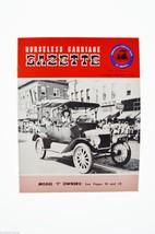 Horseless Carriage Gazette Magazine 1956  Jan - Feb Antique Automobiles,... - $10.00