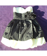 NWT BETSEY JOHNSON Chelsea Bubble Black & White Dress Sz 4 NEW (MAKE AN ... - $165.53
