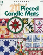 Big Book of Pieced Candle Mats (20 Designs) Quilting Pattern Leaflet - $4.47