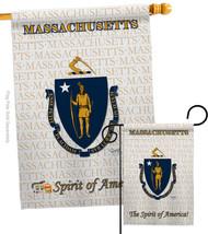 Massachusetts - Impressions Decorative Flags Set S108116-BO - $57.97