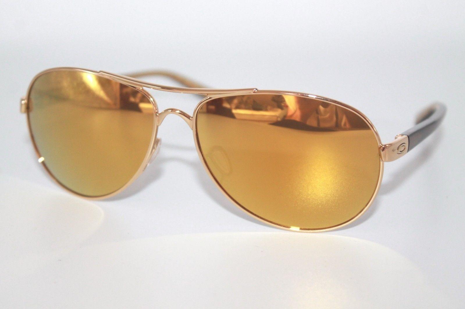 aa0b97aec2 57. 57. Previous. Oakley Feedback Sunglasses OO4079-28 Polished Gold W  24K  Gold iridium Lens. Oakley Feedback ...