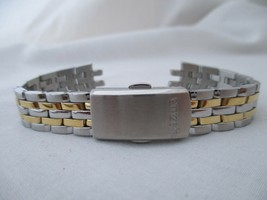 Citizen Ladies Two Toned Watch Band Stainless Steel - $16.00