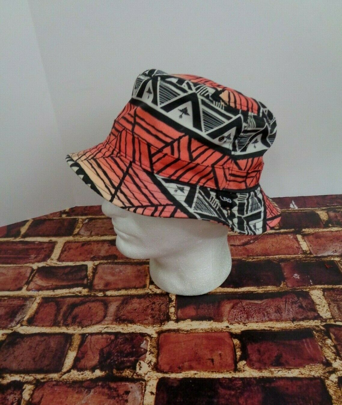 LRG Lifted Research Group FLOPPY Cap Hat Sun Fashion Black Orange Red True Heads image 2