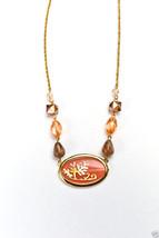 """Napier Goldtone Spring Blossom Necklace 18"""" New $32.00 - $9.99"""