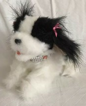 FurReal Friends Tea Cup Pups On The Go King Charles Dog Black White Move... - $18.80