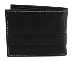 Tommy Hilfiger Men's Leather Credit Card Id Wallet Billfold Black 31TL22X023 image 4