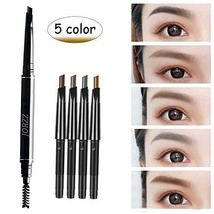 EBANKU Automatic Eyebrow Pencil, 5 Color in 1 Replaceable Double-end Mak... - $6.26
