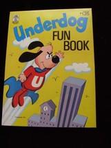 Underdog Fun Book Merrigold Press 1972 New Unused - $26.99