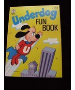 Underdog Fun Book Merrigold Press 1972 New Unused - $26.99
