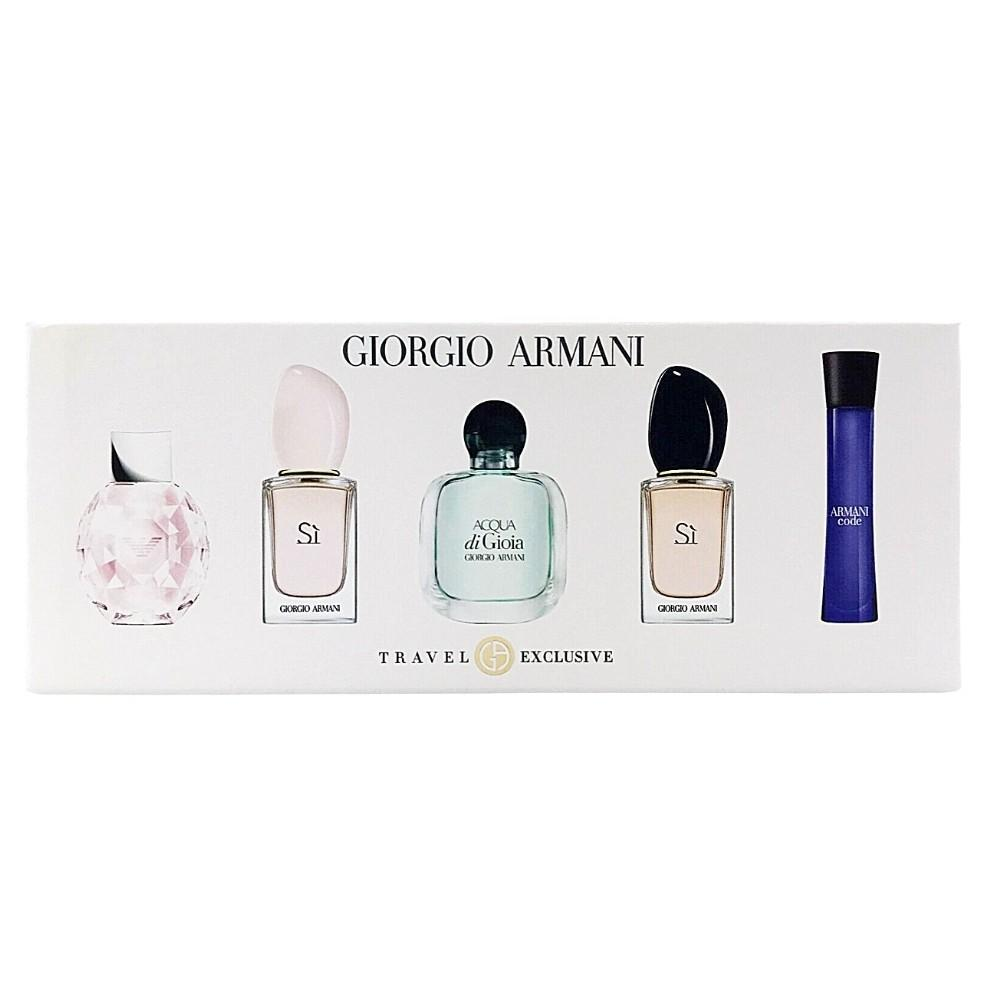 Giorgio Armani Miniatures Collection Gift Set (L) - $86.80