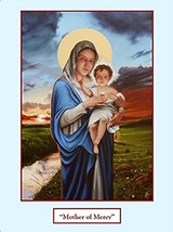 MOTHER OF MERCY - Print - by Tommy Canning - $26.95