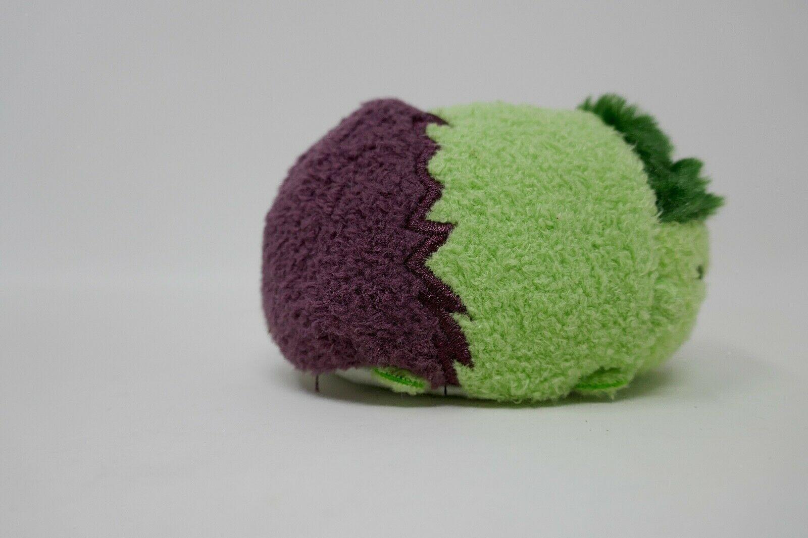 "Disney Store Tsum Tsum 3"" Plush Stuffed Animal - Marvel Incredible Hulk"