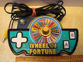 Wheel of Fortune Video Game Jakks Pacific Plug & Play 2005 Game Key Read... - $19.59