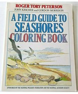Field Guide to Seashores Coloring Book R T Peterson National Audubon Soc... - $7.91