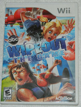 Wipeout: The Game (Nintendo Wii, 2010) with Plastic Case & Free Shipping - $7.66