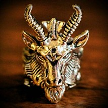 HAUNTED RING: LUCIFERIAN TRANSCENDENCE MAGICK! BECOME A DARK LORD! MONEY... - $99.99