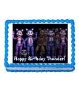 Five nights at Candy's FNaC  Edible Cake Image Cake Topper - $8.98+