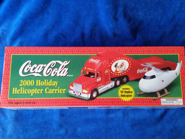 COCA COLA 2000 HOLIDAY HELICOPTER CARRIER - $12.30