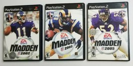PS2 Madden 3 Game Bundle SEE DESCRIPTION For Titles - $14.01