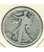 Nice 1919 S Walking Liberty half dollar. - $402,60 MXN
