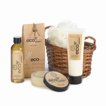 Spa Set For Women, Thanksgiving Gift Baskets For Mom - Bamboo Sugarcane ... - $24.58