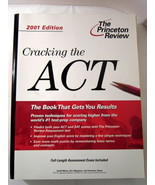 Cracking the ACT 2001 Princeton Review Study Aid - $3.00