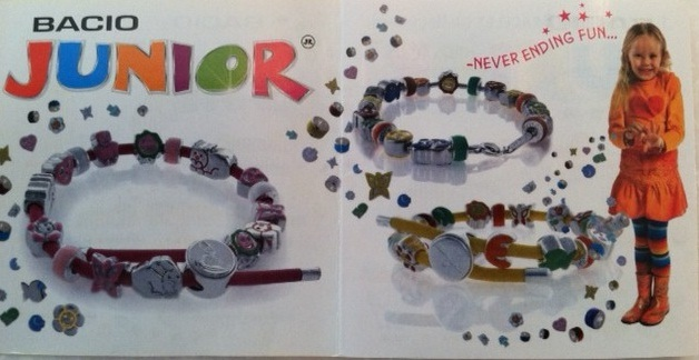 Biagi Kids Silver Flower Italian Charm Bead