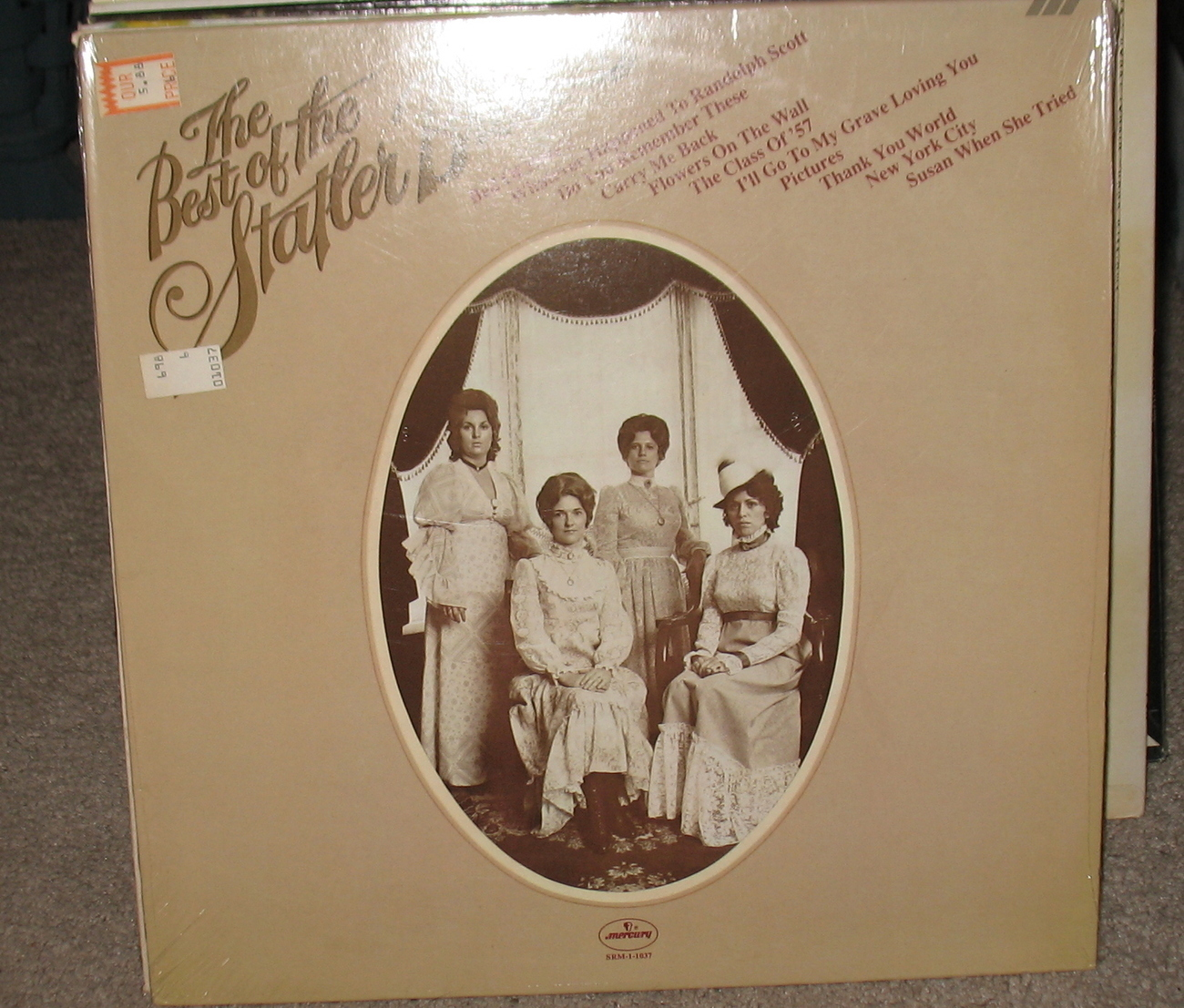The Best of the Statler Bros LP 0698