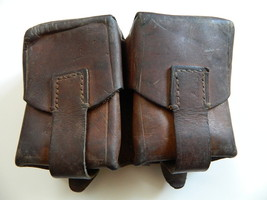 Wwii Era Yugo. Model Leather Mauser Ammo Pouch, Good To Very Good Condition - $23.95