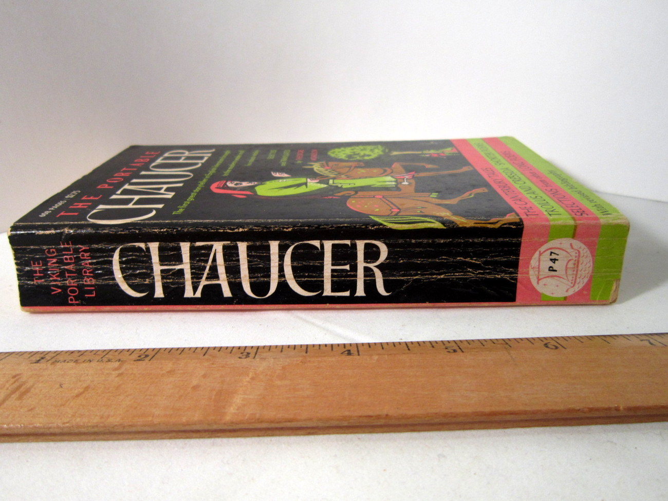 The Portable Chaucer by Theodore Morrison, Canterbury Tales and others image 3