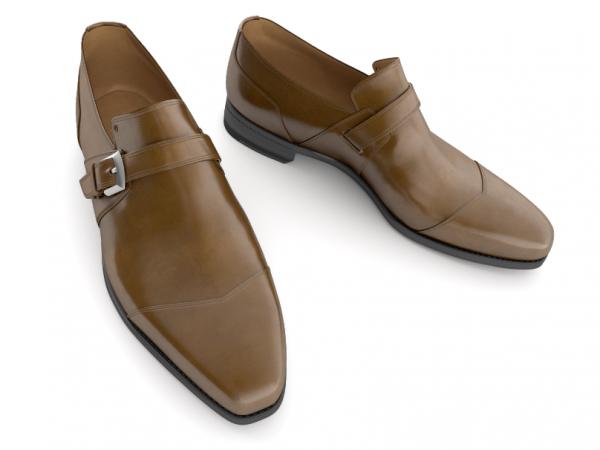 New Men,s Brown Handmade formal monk Shoes, Men dress shoes, Men leather shoes