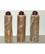 Montana Lodge Pole Pine Candle Holder Single Large  - $7.00