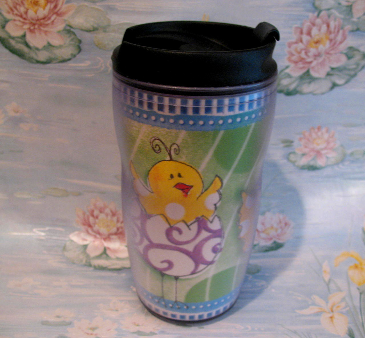 Starbucks Coffee Travel Mug Cup Tumbler Easter Baby Chicks Childs Cup Collector