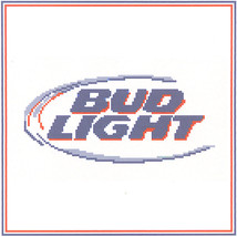 Bud Light Crochet Graph Afghan Pattern - $5.00
