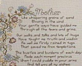 Mother L012 cross stitch chart Stoney Creek image 2