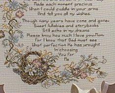 Mother L012 cross stitch chart Stoney Creek image 3