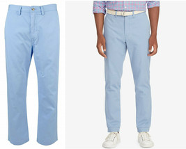 Polo Ralph Lauren Men's Classic-Fit Bedford Chino Pants Channel Blue 32 ... - $54.99