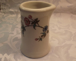 Vintage Restaurant Ware Creamer With Foral Pattern Made By Syracuse China USA - $5.00