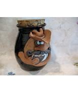 Pottery Face COWBOY Cookie Jar Mug Face Signed EAKIN Hard To Find Collec... - $99.99