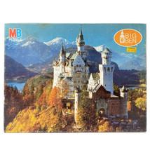 Vintage Milton Bradley Puzzle Neuschwanstein Castle 1000 Piece Sealed - $29.44