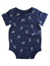 First Impressions Baby Boys One-Piece Flag-Print Bodysuit - $6.00