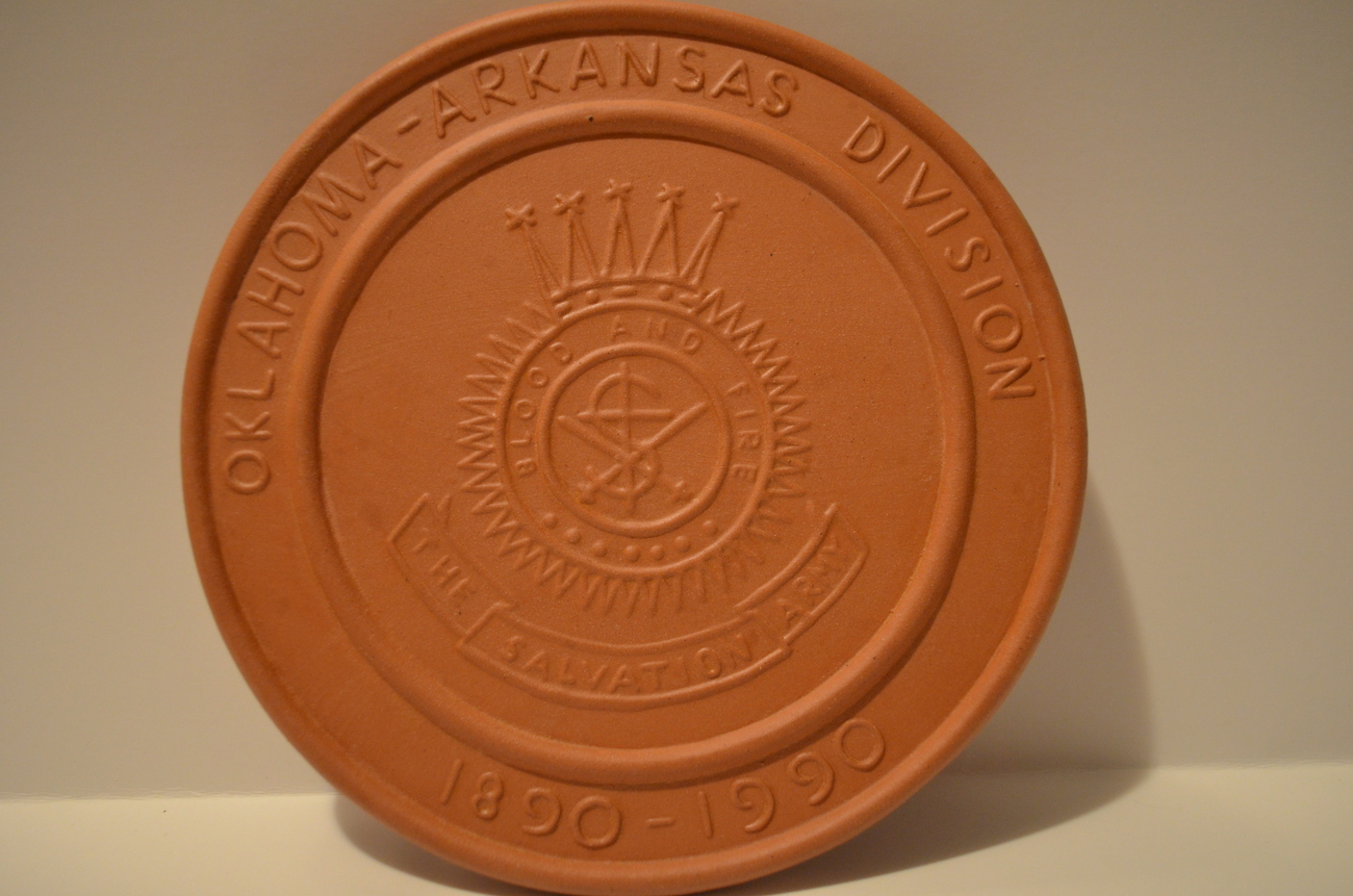 Frankoma Salvation Army Oklahoma – Arkansas 100 Year Commemorative Trivet