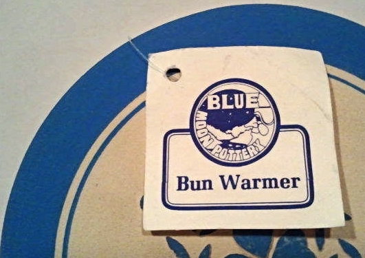 Blue Moon Pottery Bun Warmer