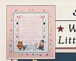 Why God Made Little Boys & Girls L071 cross stitch chart Stoney Creek image 4