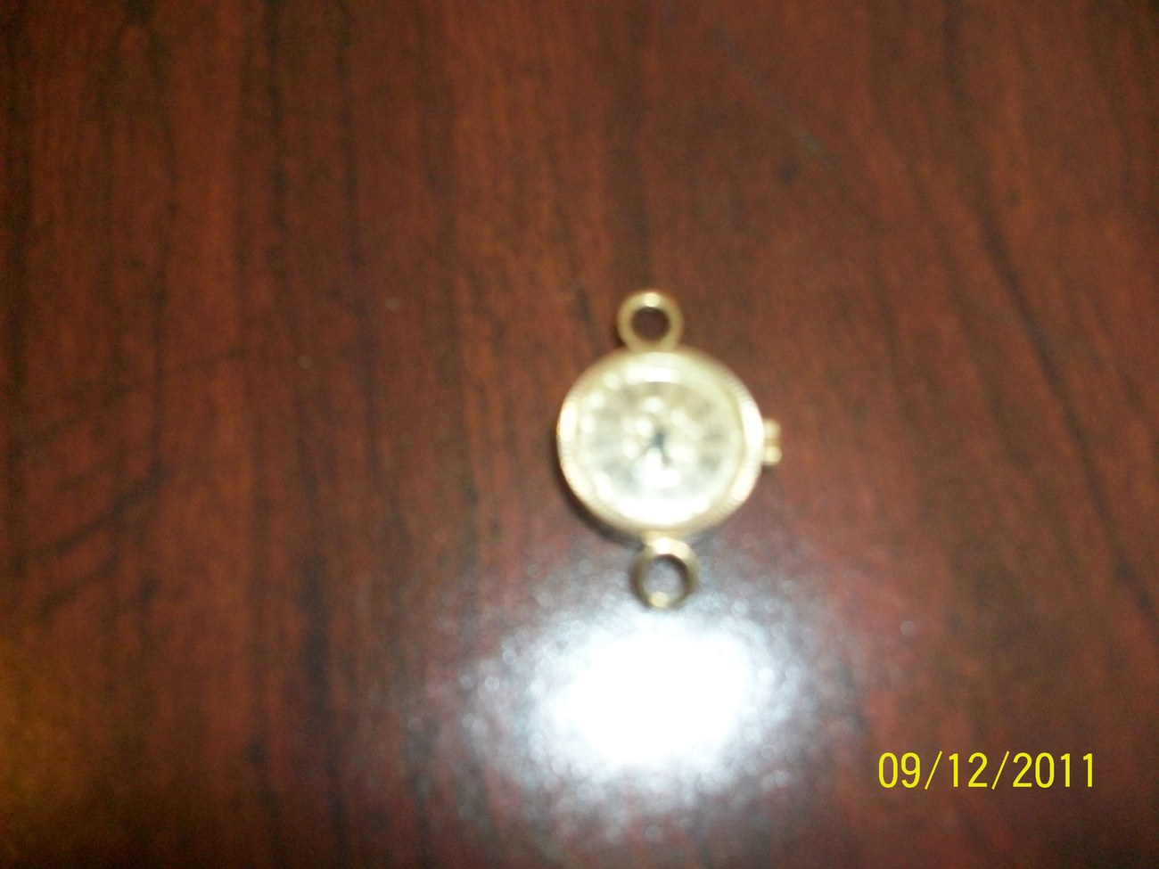 Vintage Lady's Womens Authentic Chaika Wristwatch Gold Plate