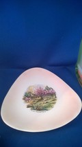 American Homestead Spring Currier & Ives Triangle Plate  - $17.50