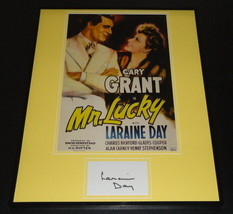 Laraine Day Signed Framed 16x20 Photo Poster Display Mr Lucky - $65.09
