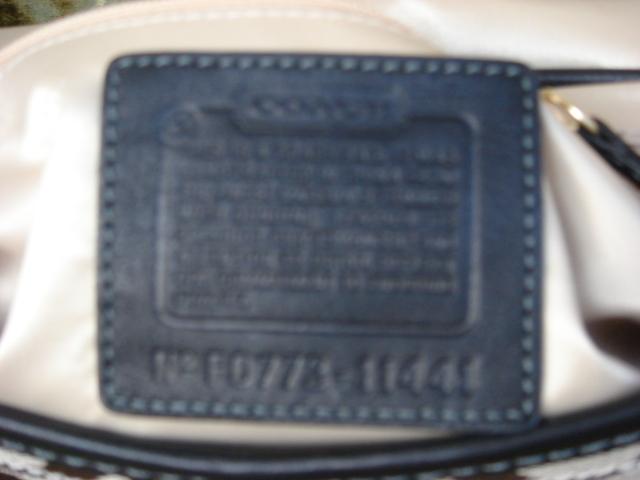 Coach Small Signature Hobo Flap # 11441