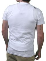 Bench Mens White College Wasp We Fly You Follow T-Shirt NWT image 3